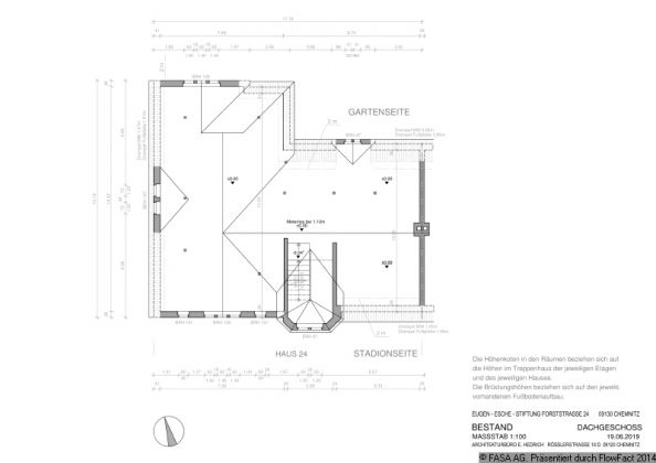 Bild: Grundriss Dachgeschoss