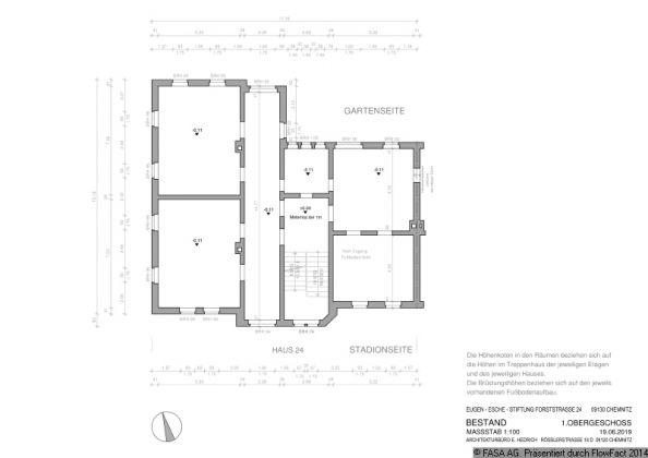 Bild: Grundriss Obergeschoss