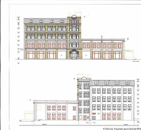Bild: Geschäftshaus Zwickauer Straße 62_Planungsansichten 1