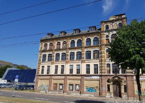 Bild: Geschäftshaus Zwickauer Straße 62_Vorderansicht