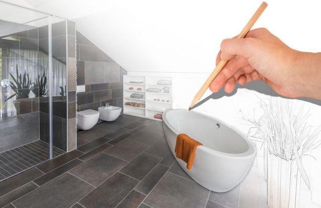 Bild: Planung Badezimmer