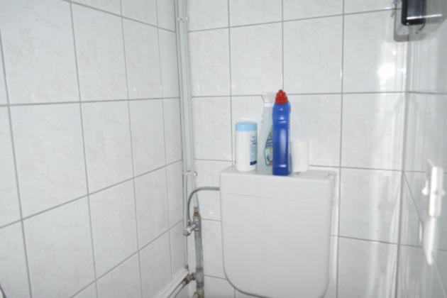 Bild: WC im Bungalow 1