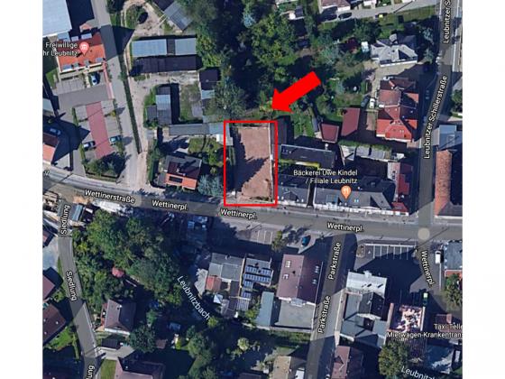 Bild: Luftbild, Quelle: google maps
