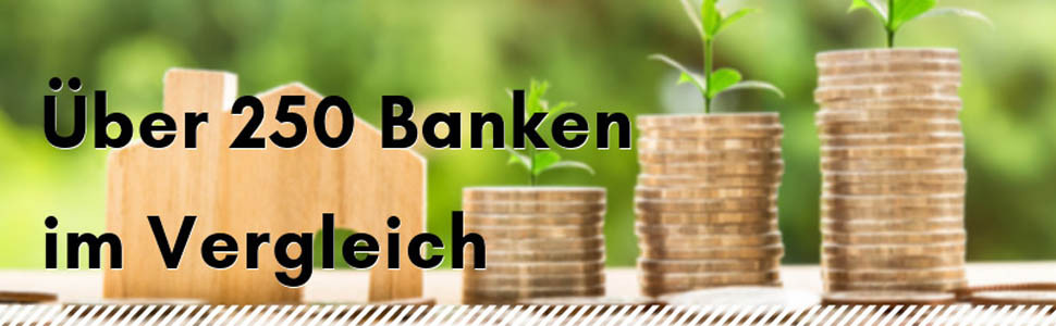 Über 250 Banken im Vergleich